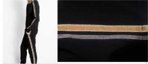 Sweatshirt « cosy néo deluxe » et pantalon « porte » commercialisés par la Sté ZV France