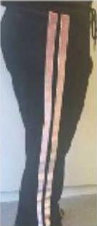 Pantalon Driss commercialisé par la Sté Sandro Andy