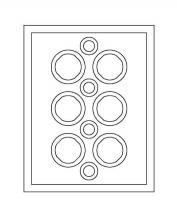Modèle communautaire n° 1664368-0006 de la société Lego (vue du dessous)